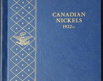Canada 5 Cents Nickel, 1922-1967, *No 1926 Far 6 and 1925* ,Whitman Album