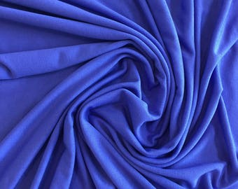 Solid Jersey Knit - Periwinkle - Rayon & Lycra Blend