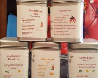 Lemon Buzzer Herbal Tea blend