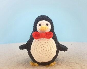 Chubby Amigurumi Penguin