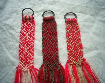 Slavic Symbols Amulet-Woven-Keychains-Braided-Gift-Slavic-Jewelry-Slavic Gods-Symbols-pendant-Norse Talisman-Pagan Symbols-Rune-Lanyard-Sun