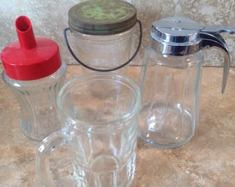Glass kitchen assortment