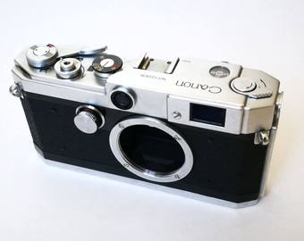 Canon L2 Rangefinder. Ready-To-Use Serviced Vintage 1950s Camera with M39 LTM Leica Thread Mount