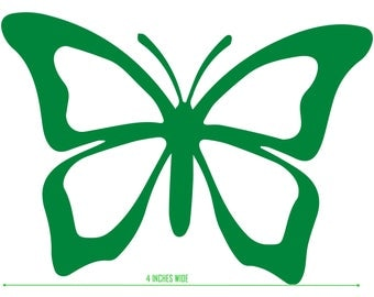 Butterfly sticker, nature, beautiful, spring, cute window decal