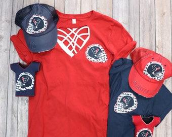 ba408538d ... Houston Texans shirt - Sweet Texas Treasures - houston texas texans jj  watt, htown football ...