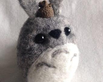 Medium Kawaii Totoro Soft Sculpture Fan Art Gift