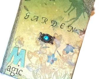 Garden Magic planner journal, Garden Planner, Organizer,Garden Tips Binder, scrapbook Style, Gardening, Planting, mothers day gift