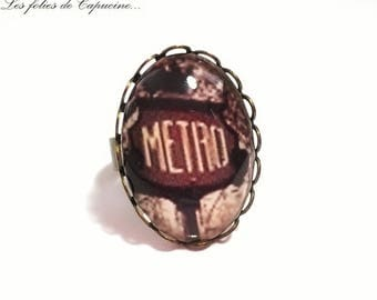 Ring Cabochon •PARISIENNE year 30 •