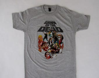 Brand New AWESOME George A. Romero Dawn of the Dead Soft Cotton Shirt Medium Available Free Same Day Shipping!