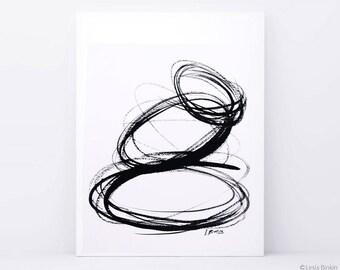 Black-and-white watercolor zen stones,  harmony painting, zen painting, abstract painting, black and white  art, monochrome zen painting