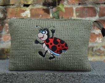 Ladybug Knitting kit