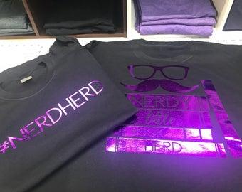 NerdHerd shirts