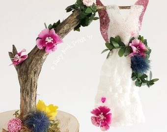 Forest Fairy Dress - Party Vintage Floral