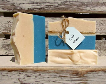 Cold Water Handcrafted Soap, Goats Milk Soap, FREE SHIPPING
