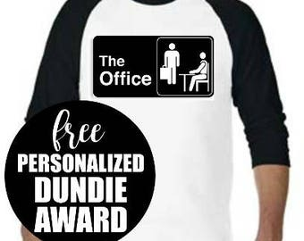 The Office Logo Tee, Michael Scott, The Office Shirt