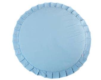 Play mat / Kids play mat / Baby round mat / Padded baby mat / Padded play mat / Grey play mat / Kids rug