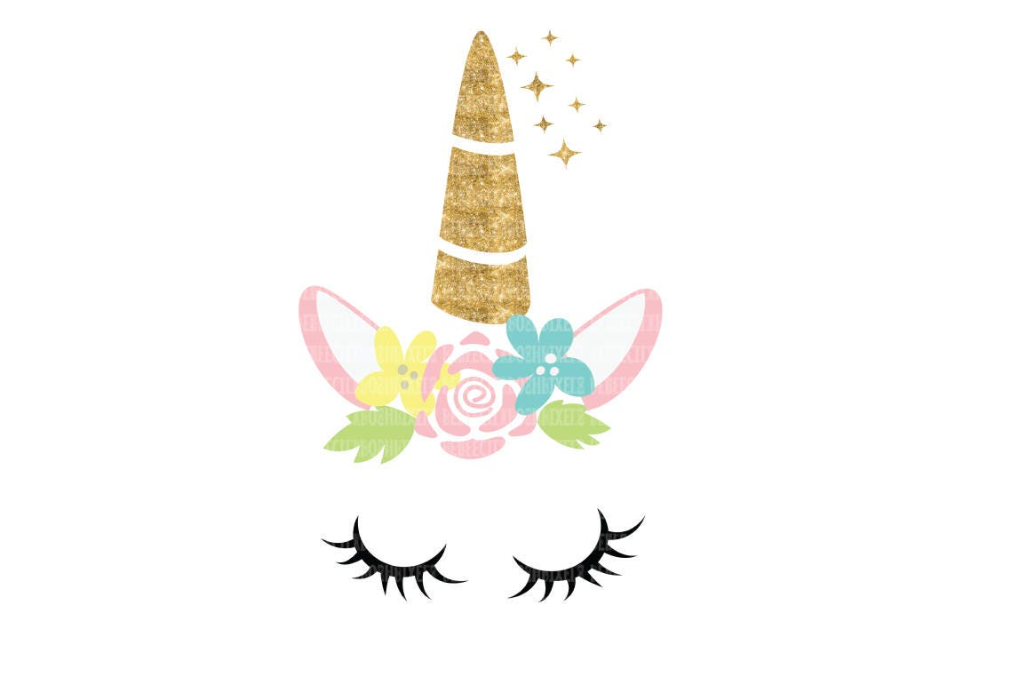 Bewitching image within printable unicorn template