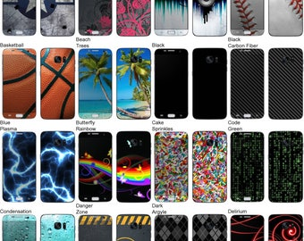 Choose Any 2 Designs - Vinyl Skins / Decals / Stickers for Samsung Galaxy S7 Edge Android Smartphone