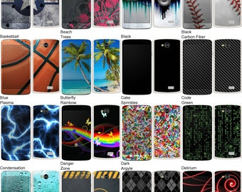 Choose Any 2 Designs - Vinyl Skins / Decals / Stickers for LG Tribute Android Smartphone