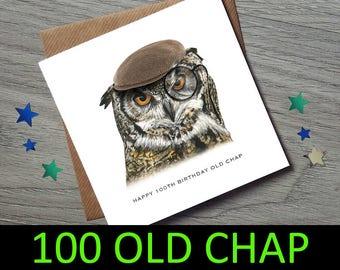 100th Birthday card - 100th Birthday Card for him - 100th Birthday - 100th Birthday Gift - 100 Birthday Card - 100th Birthday - 100 Birthday