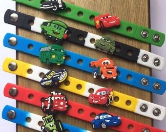 Cars Charm Bracelets PARTY FAVORS