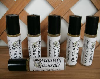 Wild Flower All Natural Essential Oil Roll On, Roller,Lavender, Geranium, Ylang-ylang