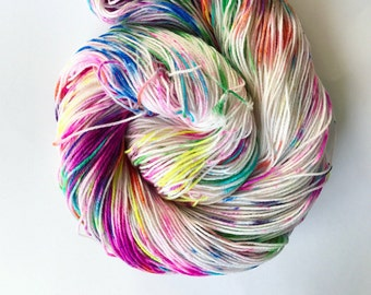 Graffiti Blast Sock Yarn