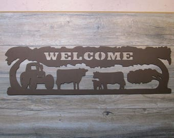 Farm Welcome Wall Art