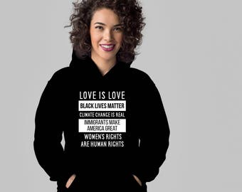 Human rights hoodie. Cute and funny gift idea hoodies.