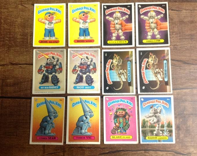 GPK 1986 3rd Series - Garbage Pail Kids Trading Cards