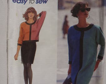 Misses Dress, Top and Skirt Simplicity Sewing Pattern for Women 7652 Size 10 - 18