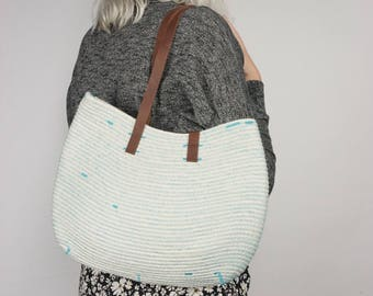 NEW! Turquoise Market Tote (IN STOCK)