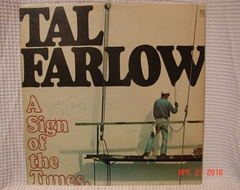 Tal Farlow A Sign Of The Times Concord Jazz CJ-25