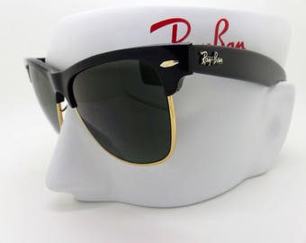 Ray Ban B&L Wayfarer Max W1272 54mm Sunglasses 80s USA NOS