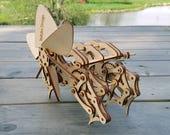Strandbeest wooden model - Kit. Free Global Shipping