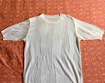 Vintage White Sweater Dress