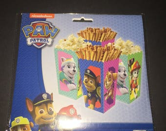 Paw Patrol Snack Boxes 4ct