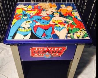 Justice league   - kids room decor - justice league decor - super hero decor - batman decor - superman decor - super heros  - kids