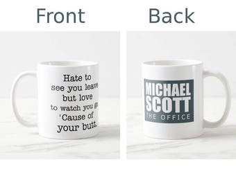 The Office tv show mug, Michael Scott quote mug, quote mug, funny mug, coffee mug, mugs, the office gift, michael scott office, office show