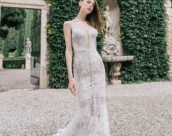 Wedding dress TOLLA, dress, couture wedding dress, gown wedding dress