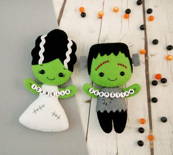 Halloween Wedding Gift Ideas: Personalised Gift For Him Halloween Decorations Frankenstein