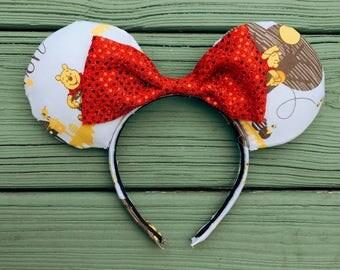 Winnie The Pooh Minnie Mouse Ears