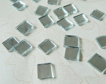 10% OFF Square Shaped Mirrors, Craft Mirrors, Mirror Embellishments, Glass Mirrors