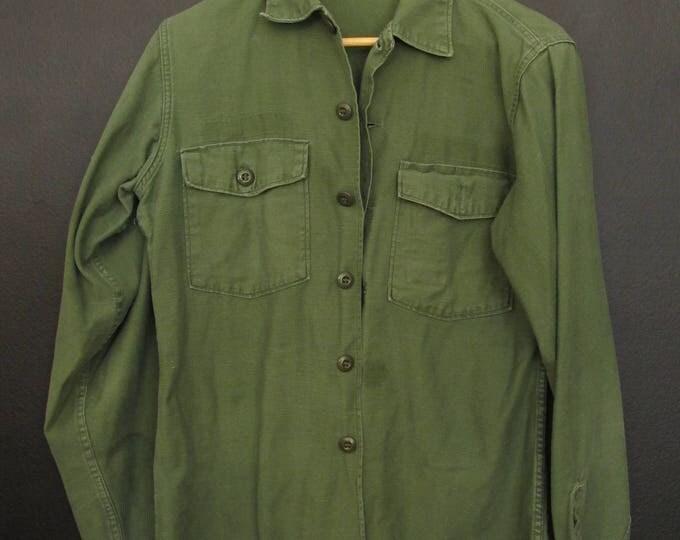 Vintage Army green Shirt