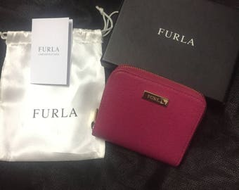 Genuine Pink Furla wallet