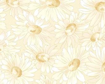 1/2 yd Gentle Breeze Tonal Daisies by Jan Douglas for Maywood Studio MAS8513-E
