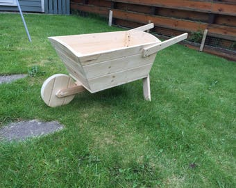 Large wheelbarrow planter