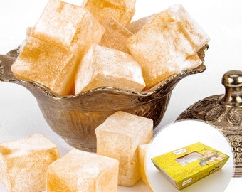 Lemon Turkish Delight ( Lokum ) (500 grams)