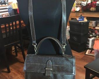 Vintage Furla Handbag with Detachable  Shoulder Strap