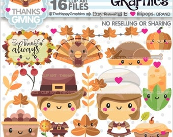 80%OFF - Thanksgiving Clipart, Thanksgiving Graphic, COMMERCIAL USE, Thanksgiving Party, Thanksgiving Celebration, Thanksgiving